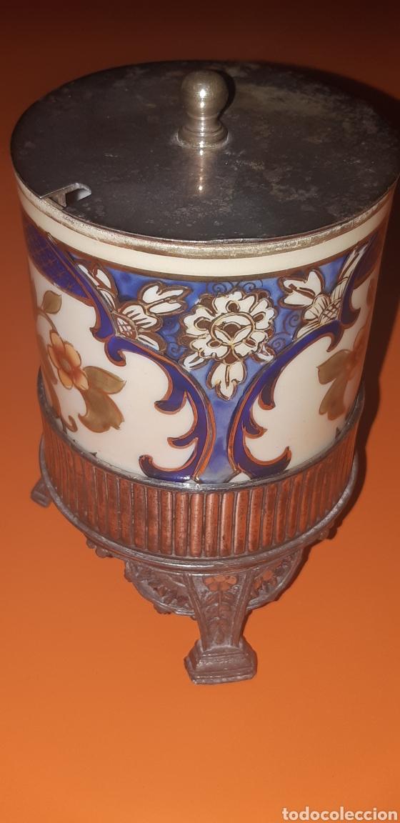 Antigüedades: Pequeño azucarero primer cuarto sxx - Foto 3 - 222624040