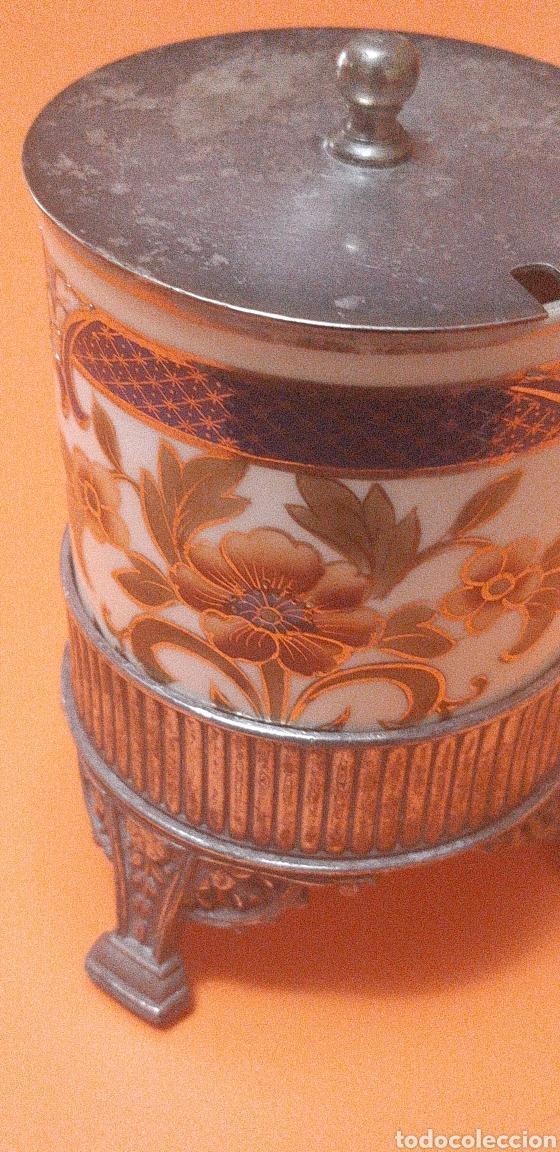 Antigüedades: Pequeño azucarero primer cuarto sxx - Foto 5 - 222624040
