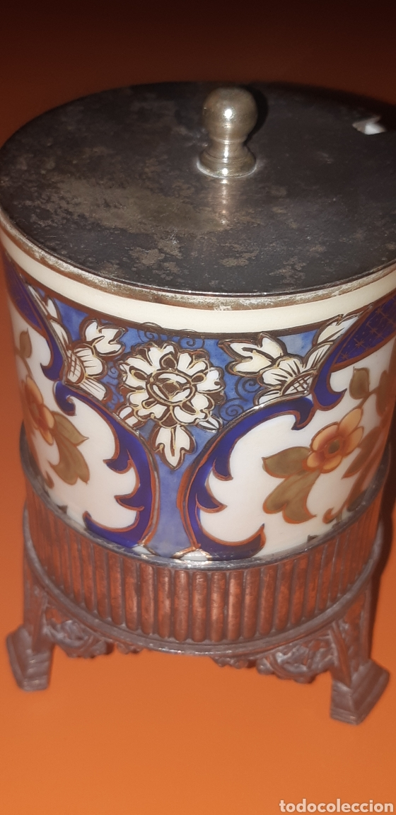 Antigüedades: Pequeño azucarero primer cuarto sxx - Foto 6 - 222624040