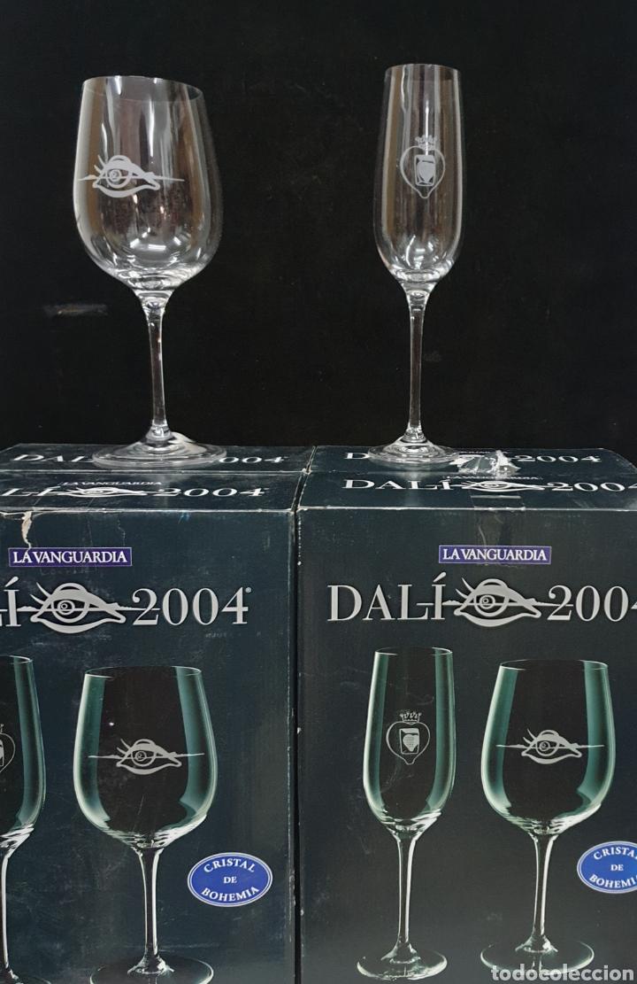 Antigüedades: Copas de cava y agua Dali 2004 - Foto 2 - 222627988