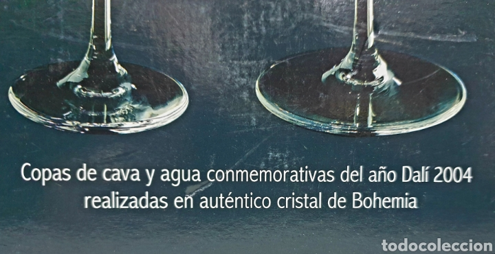 Antigüedades: Copas de cava y agua Dali 2004 - Foto 3 - 222627988