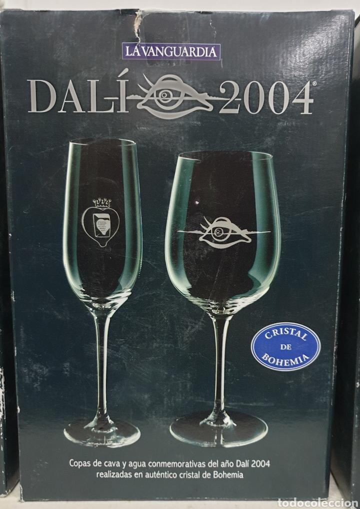Antigüedades: Copas de cava y agua Dali 2004 - Foto 4 - 222627988