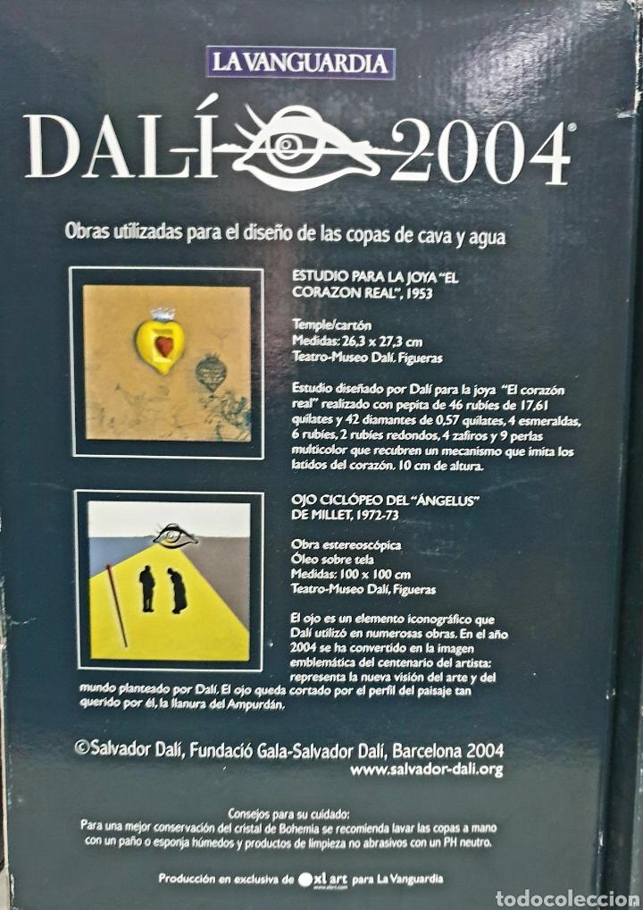 Antigüedades: Copas de cava y agua Dali 2004 - Foto 5 - 222627988