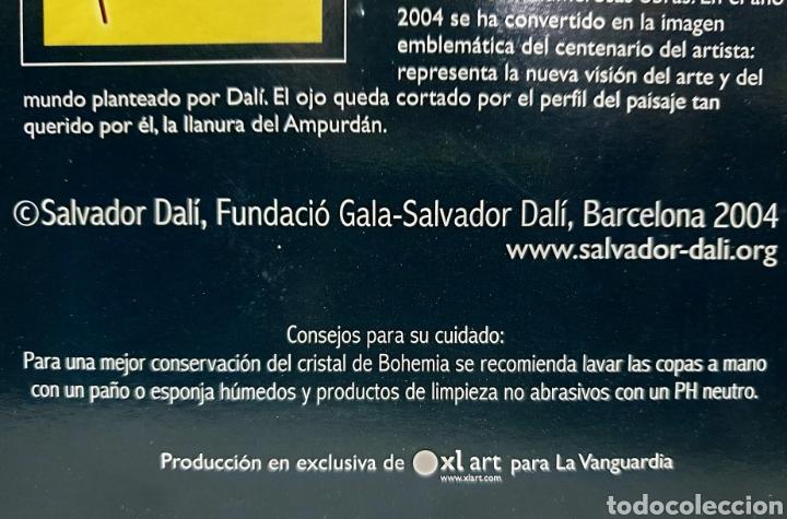 Antigüedades: Copas de cava y agua Dali 2004 - Foto 6 - 222627988