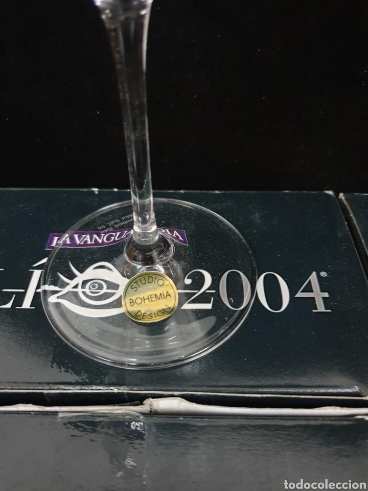 Antigüedades: Copas de cava y agua Dali 2004 - Foto 7 - 222627988