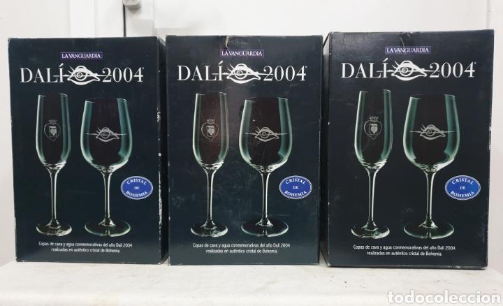 Antigüedades: Copas de cava y agua Dali 2004 - Foto 11 - 222627988