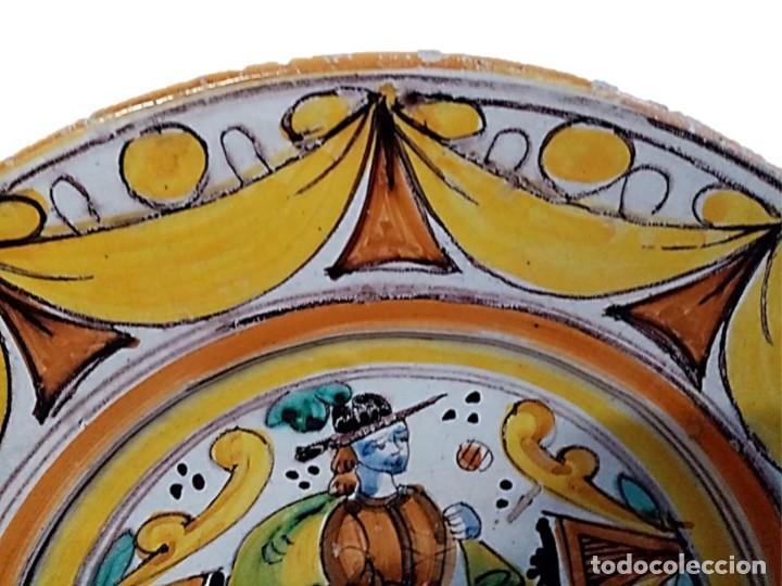 Antigüedades: PLATO CERÁMICA CATALANA ESMALTADA S. XVIII/XIX - Foto 3 - 222640717