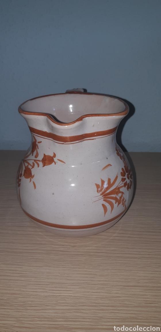 Antigüedades: Jarra lario pintada a mano ceramica de lorca - Foto 2 - 222648211