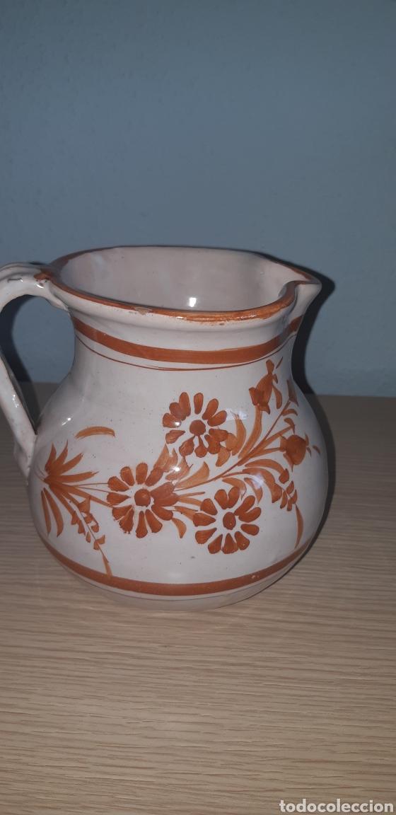 Antigüedades: Jarra lario pintada a mano ceramica de lorca - Foto 3 - 222648211