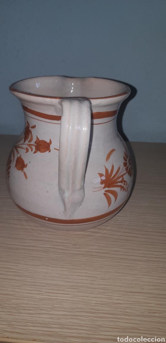 Antigüedades: Jarra lario pintada a mano ceramica de lorca - Foto 4 - 222648211