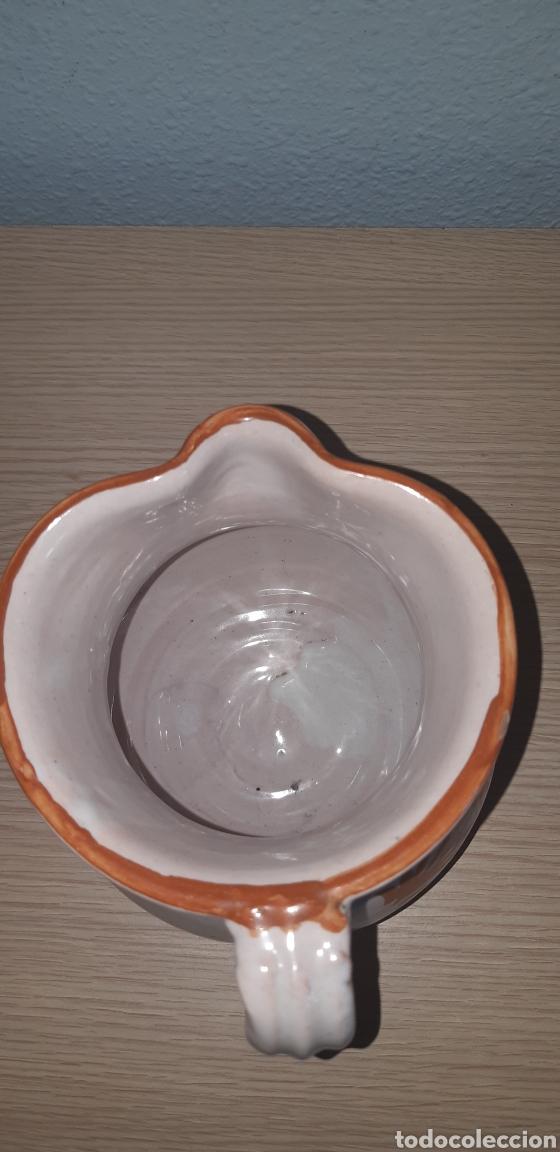 Antigüedades: Jarra lario pintada a mano ceramica de lorca - Foto 5 - 222648211
