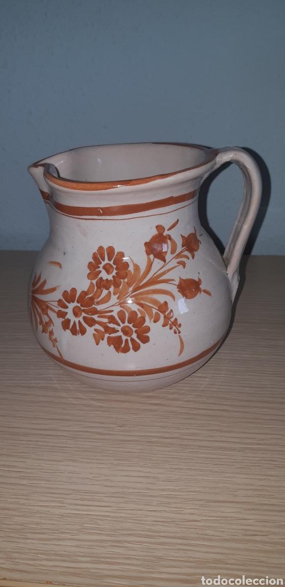 JARRA LARIO PINTADA A MANO CERAMICA DE LORCA (Antigüedades - Porcelanas y Cerámicas - Lario)