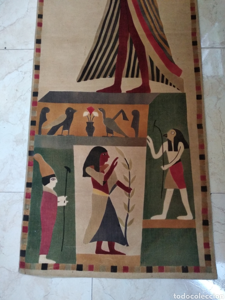 ANTIGUOS TAPICES EGIPCIOS (Antigüedades - Hogar y Decoración - Tapices Antiguos)