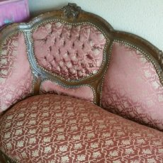 Antiguidades: CHAISE LONGUE. Lote 222660210