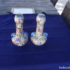 Antigüedades: ANTIGUA PAREJA DE JARRONES. Lote 222665493
