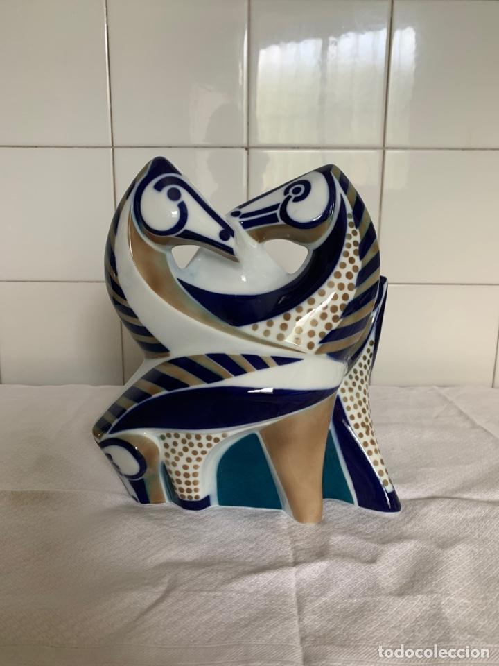 Antigüedades: Figura de porcelana de sargadelos - Foto 2 - 222668090