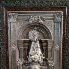 Antigüedades: VIRGEN DE LOS DESMPARADOS RELIEVE ANTIGUO. Lote 222669323