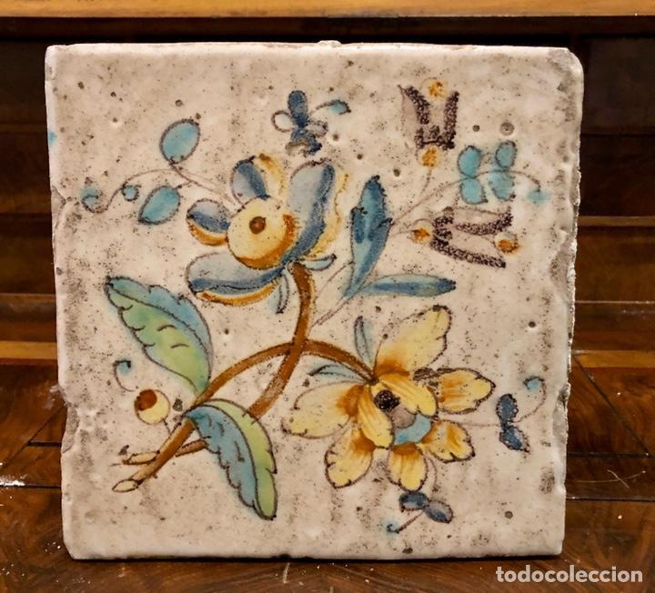 34 AZULEJOS BARROCOS DEL SIGLO XVIII (Antigüedades - Porcelanas y Cerámicas - Azulejos)