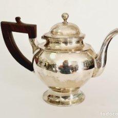 Antigüedades: TETERA DE PLATA LEY MARCADO CON CONTRASTE SIGLO XIX. Lote 222685601