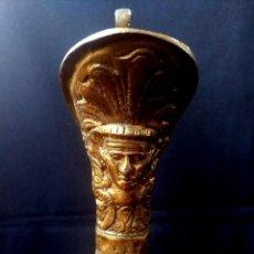 Antigüedades: ANTIGUOS JARRONES DE BRONCE. Lote 222702142