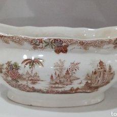 Antiquités: ANTIGUA SALSERA DE PICKMAN LA CARTUJA. Lote 222712032