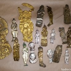 Antigüedades: COLECCIÓN LOTE 21 EXVOTOS. Lote 222714226