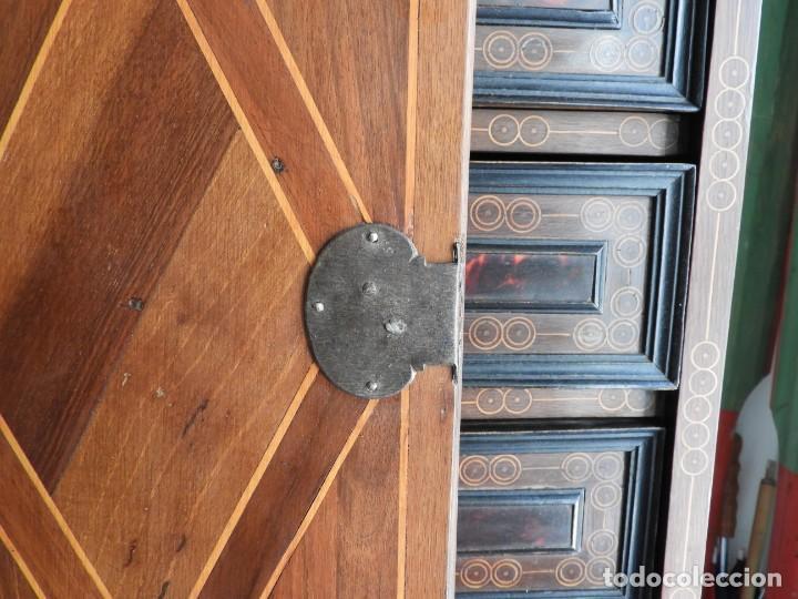 Antigüedades: FANTASTICO BARGUEÑO PAPELERO ITALIANO BARROCO S. XVIII - Foto 13 - 222714723