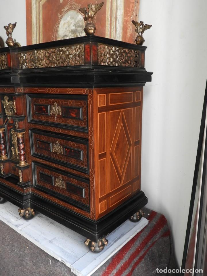 Antigüedades: FANTASTICO BARGUEÑO PAPELERO ITALIANO BARROCO S. XVIII - Foto 15 - 222714723