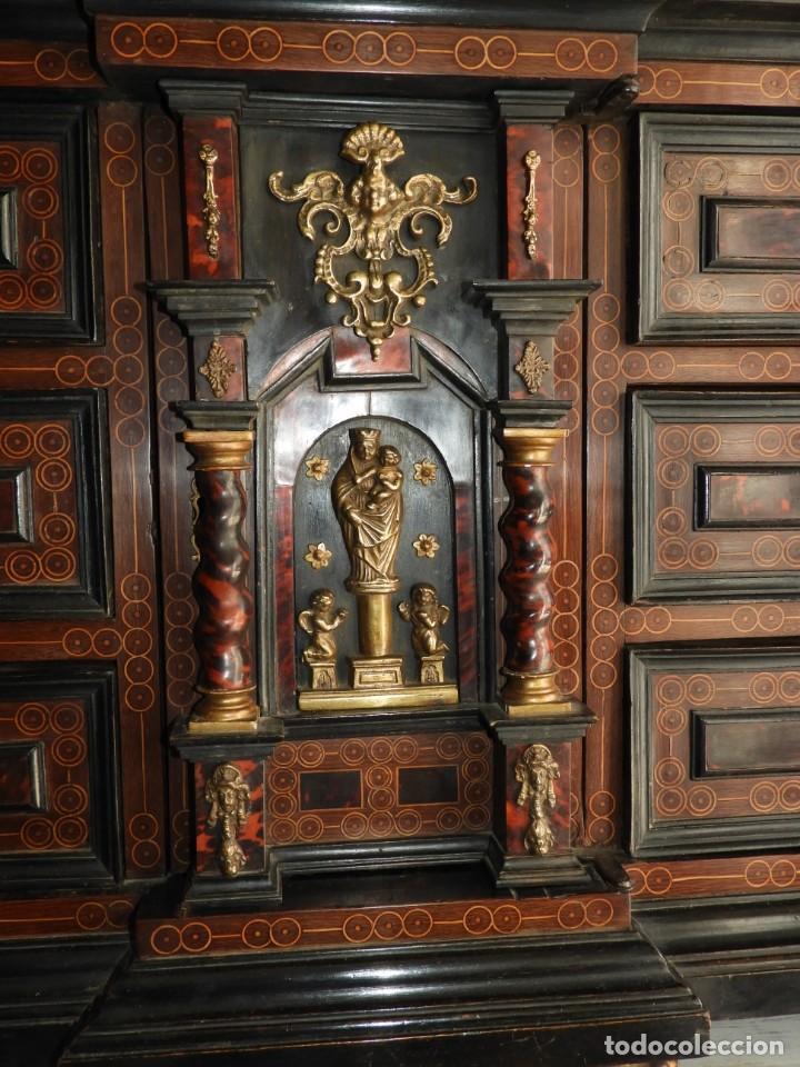 Antigüedades: FANTASTICO BARGUEÑO PAPELERO ITALIANO BARROCO S. XVIII - Foto 18 - 222714723