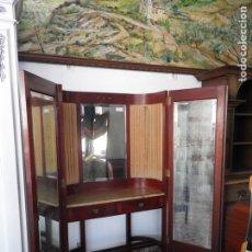 Antiguidades: TOCADOR PUERTAS Y ESPEJO. Lote 222717461