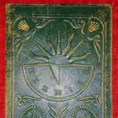 Antigüedades: CARTERA PORTA DOCUMENTOS MARCA ROLEX. CUERO REPUJADO. SUIZA. CIRCA 1950. Lote 222722942