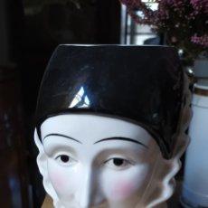 Antigüedades: JARRA PERSONAJES JAPONESA. Lote 222728633
