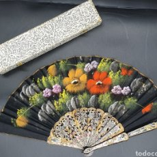 Antigüedades: ABANICO PINTADO A MANO. Lote 222731438