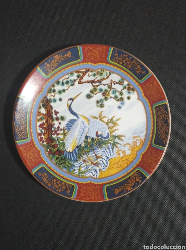 PRECIOSO PLATO ARTESANAL CON SELLO (Antigüedades - Porcelanas y Cerámicas - Otras)