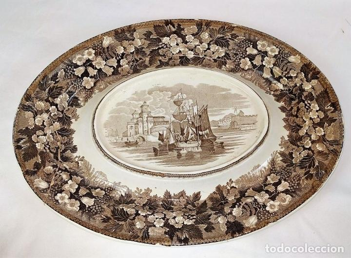 Antigüedades: GRAN VAJILLA WEDGWOOD SERIE FERRARA ORIGINAL. 96 PIEZAS. LOZA ESMALTADA. INGLATERRA. SIGLO XIX - Foto 63 - 222747488