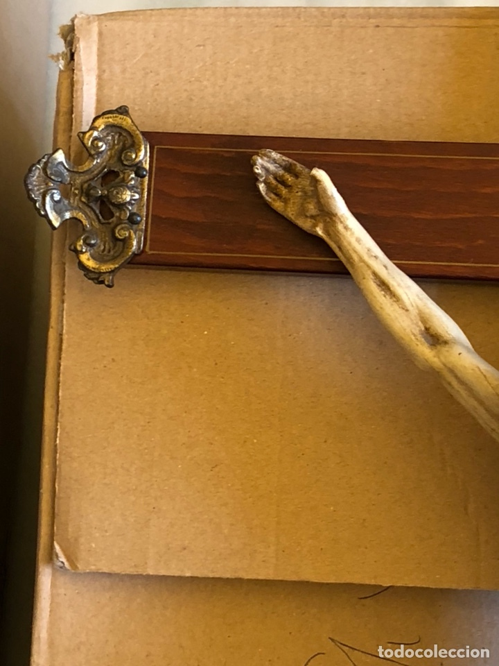 Antigüedades: Bonito Cristo de pared - Foto 3 - 222754088