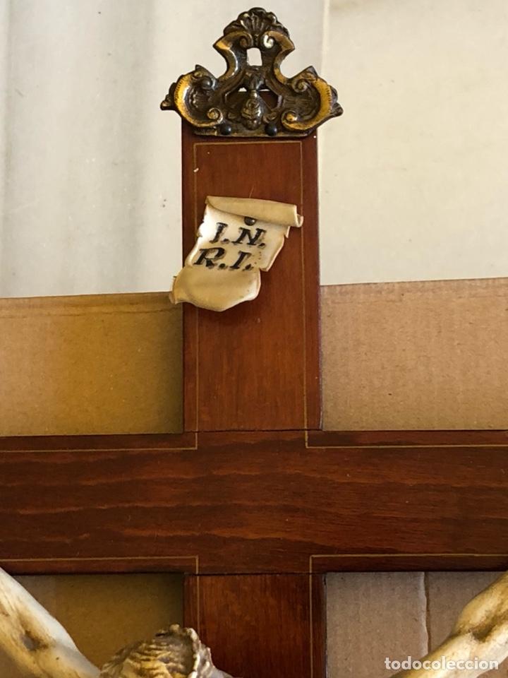 Antigüedades: Bonito Cristo de pared - Foto 4 - 222754088
