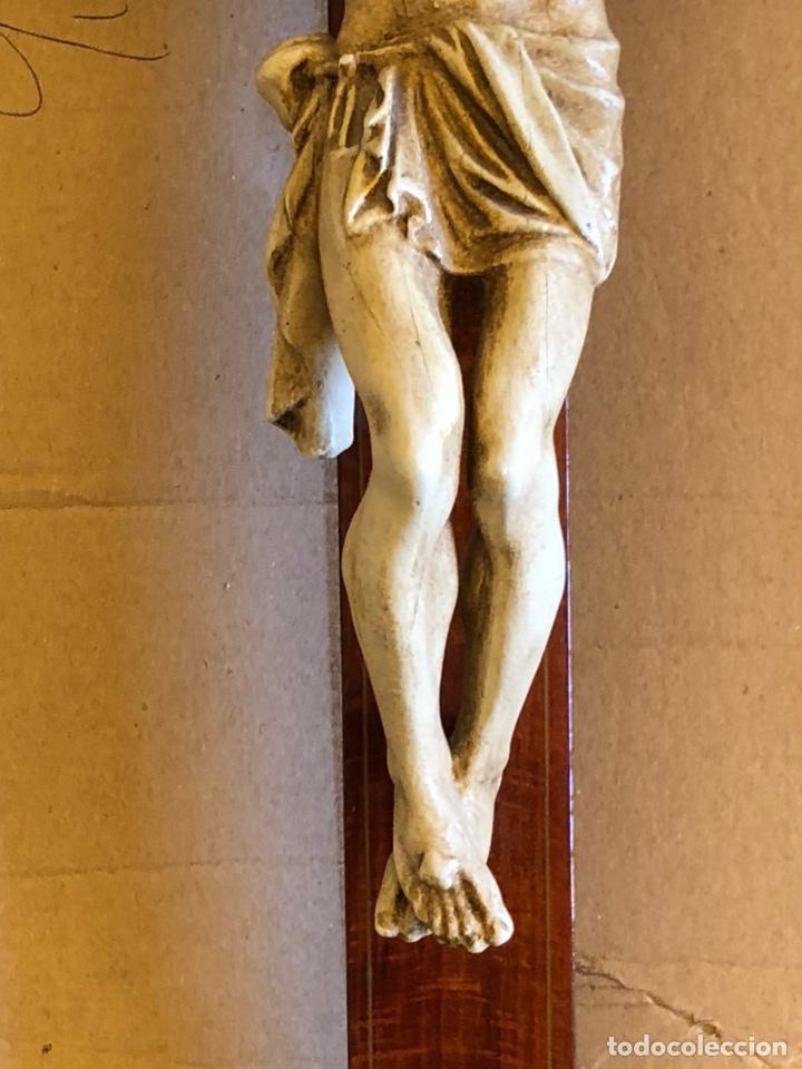 Antigüedades: Bonito Cristo de pared - Foto 6 - 222754088