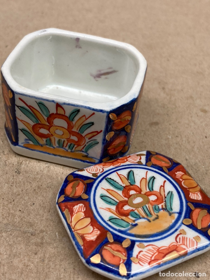 Antigüedades: Caja de porcelana - Foto 2 - 222762968