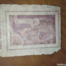 Antigüedades: ANTIGUA ESTAMPA CORTE DE LA VIRGEN DEL CARMEN. Lote 222784382