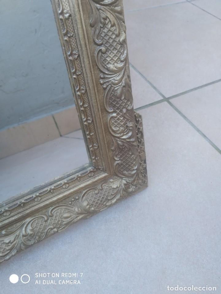 Antigüedades: Espejo Carlos IV 69×47 cm - Foto 4 - 222787408