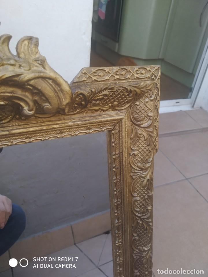Antigüedades: Espejo Carlos IV 69×47 cm - Foto 6 - 222787408