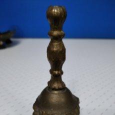 Antigüedades: ANTIGUA Y PEQUEÑA CAMPANA DE BRONCE.. Lote 222788431