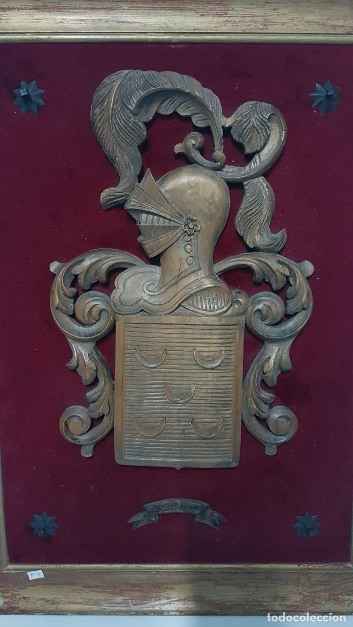 Antigüedades: Escudo heraldico Apellido Pinto - Foto 2 - 222788545