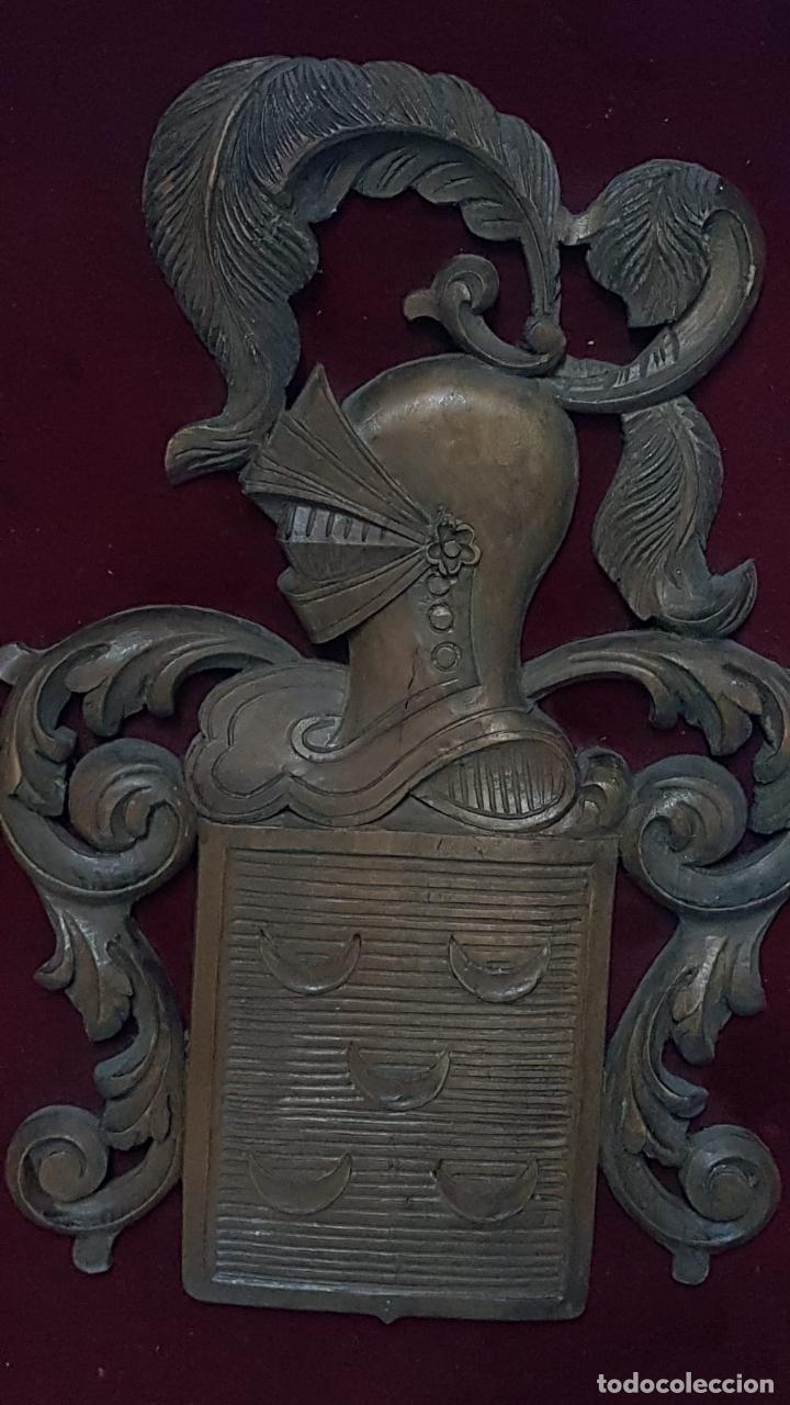 Antigüedades: Escudo heraldico Apellido Pinto - Foto 3 - 222788545