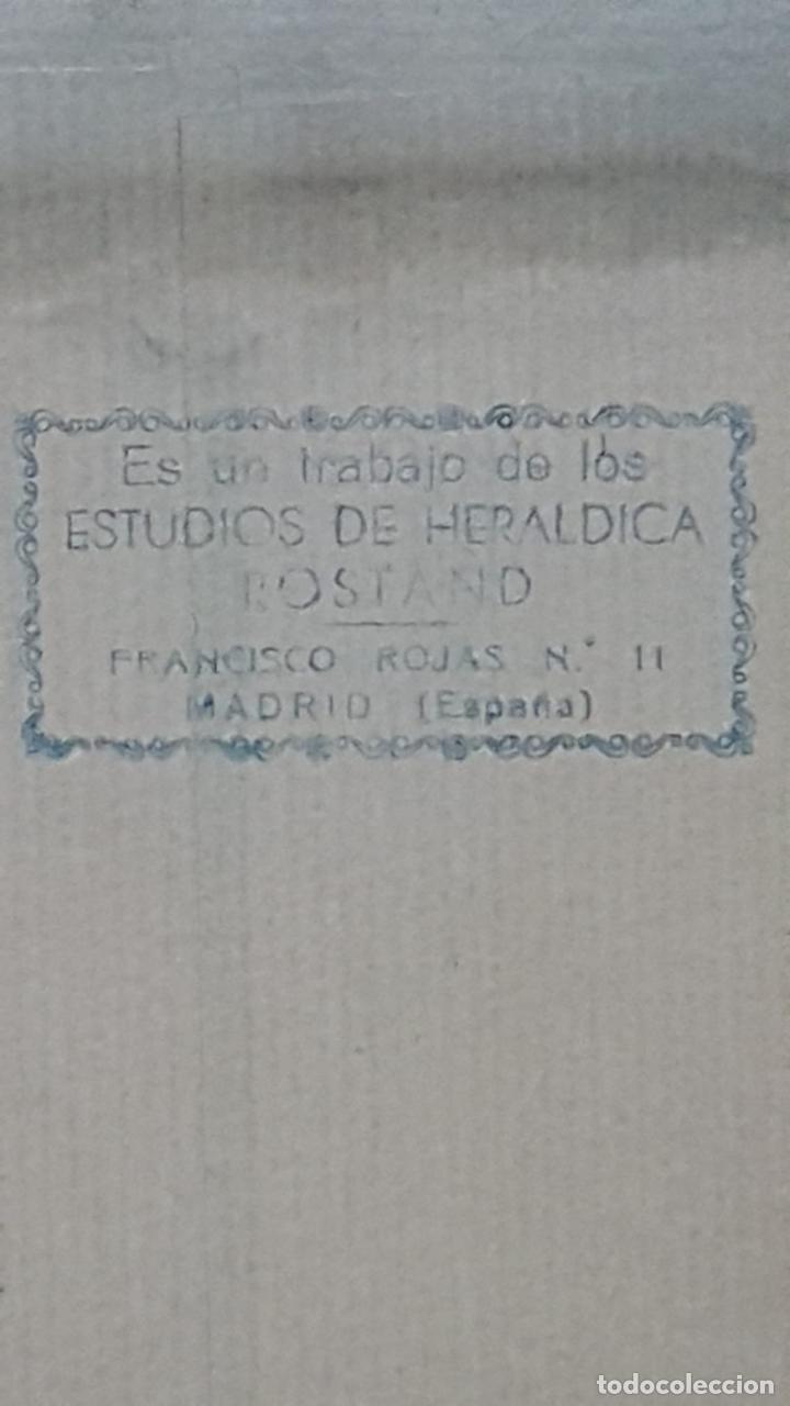 Antigüedades: Escudo heraldico Apellido Pinto - Foto 7 - 222788545