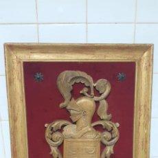 Antigüedades: ESCUDO HERALDICO APELLIDO PINTO. Lote 222788545
