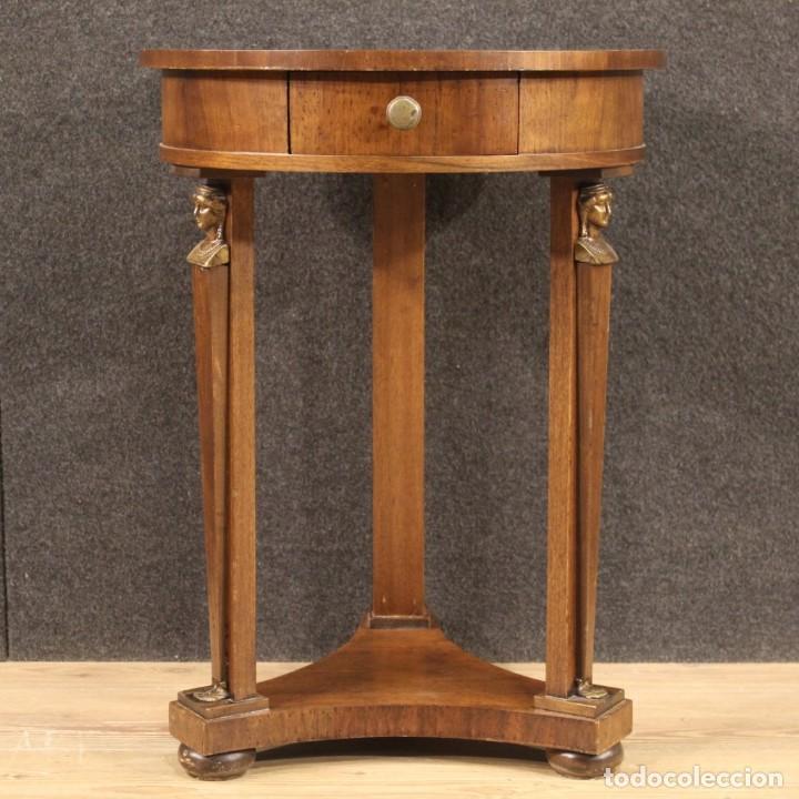 Antigüedades: Mesa francesa en caoba y madera de haya - Foto 2 - 222793102