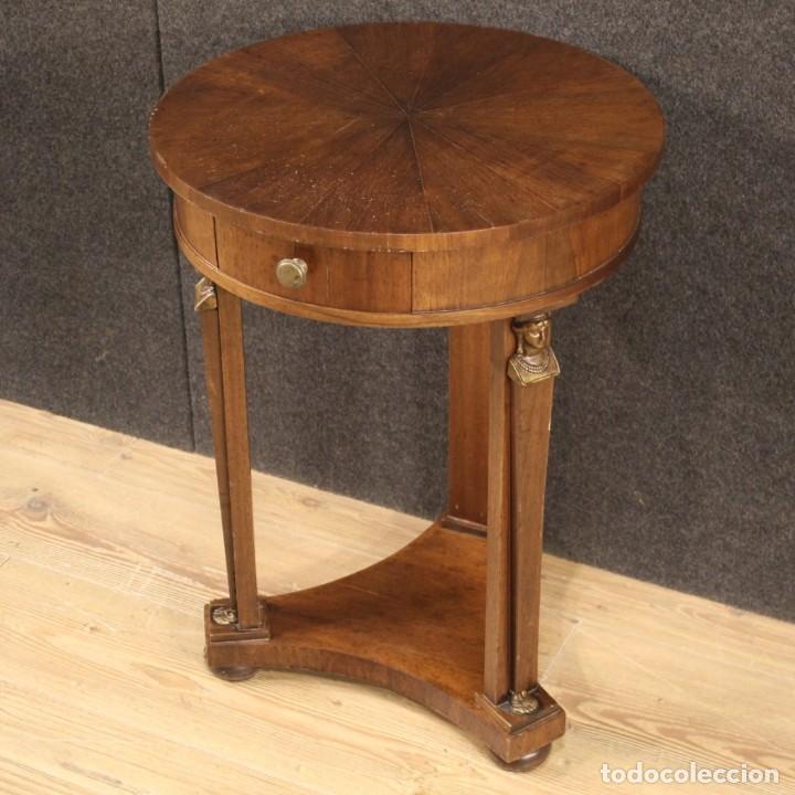 Antigüedades: Mesa francesa en caoba y madera de haya - Foto 3 - 222793102