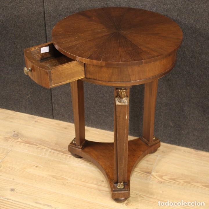 Antigüedades: Mesa francesa en caoba y madera de haya - Foto 4 - 222793102
